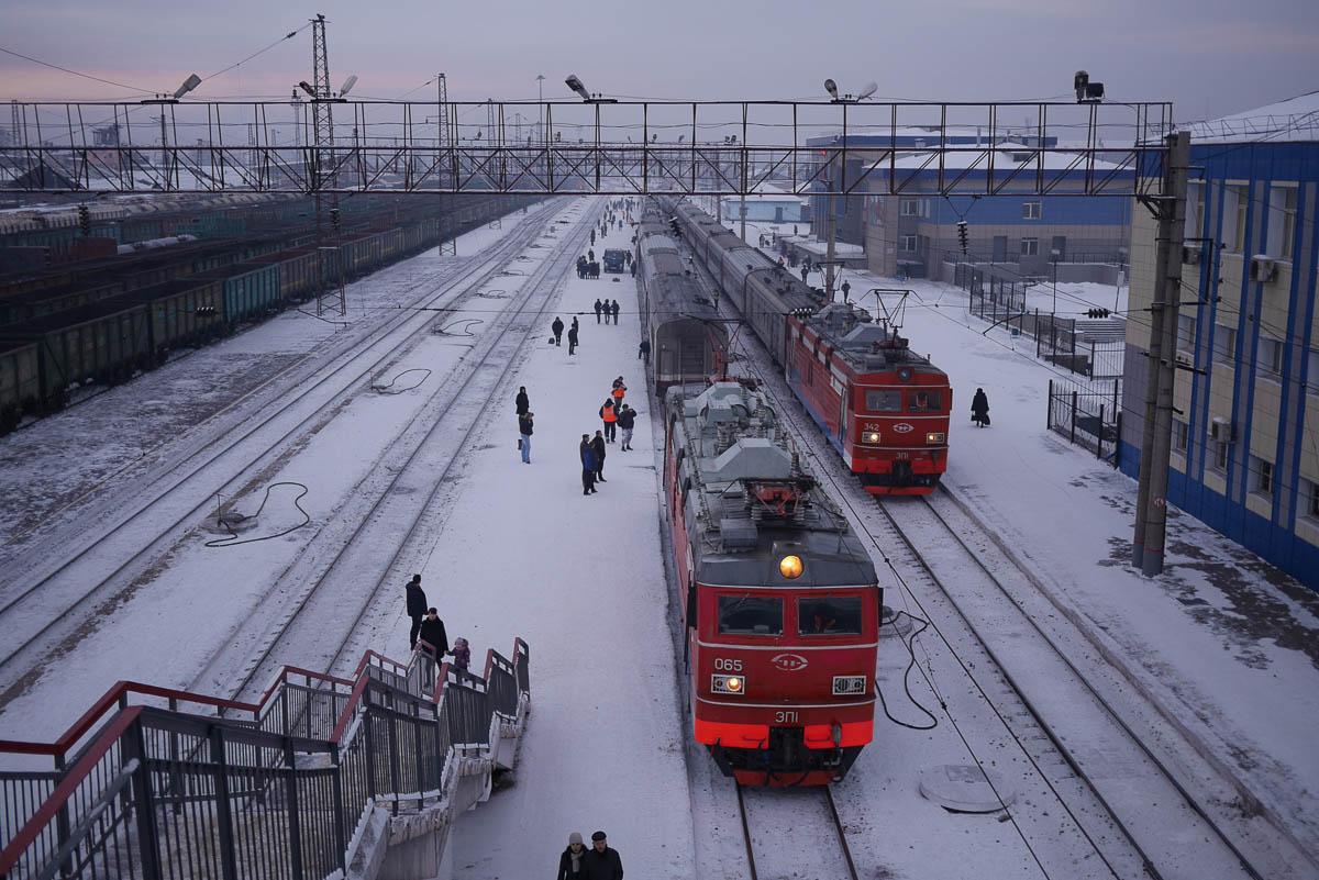 Winter trip on Transsib
