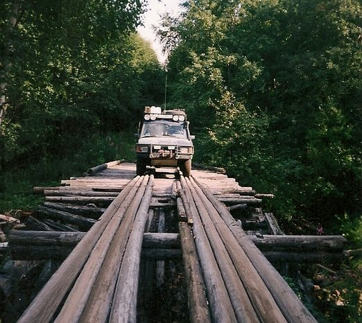 Lake Ladoga 2003. Reminiscences of a soldier and Russian off-road